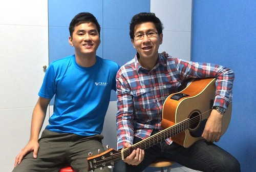 Adult guitar lessons Singapore Bryan