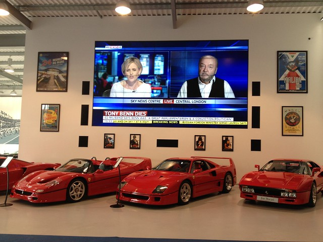 Ferrari's @ Joe Macari
