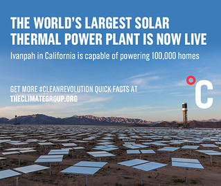 World's largest solar thermal power plant opens | by TheClimateGroup