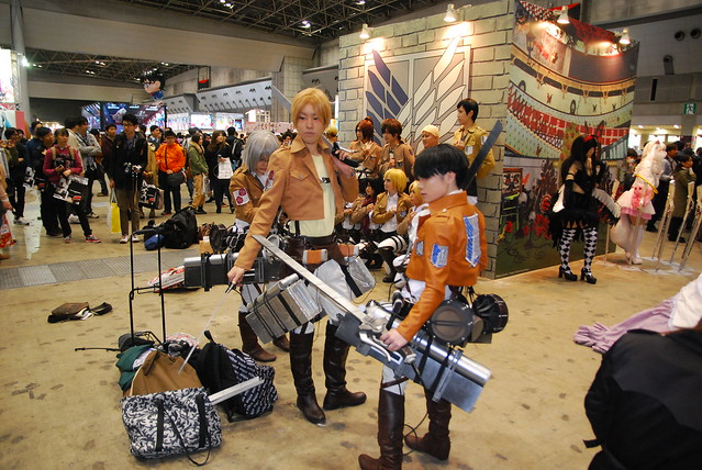 Cosplay AnimeJapan 2014