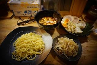 Tsukemen Yasubee: Spicy Tsukemen Set | by Curry puff, lah!
