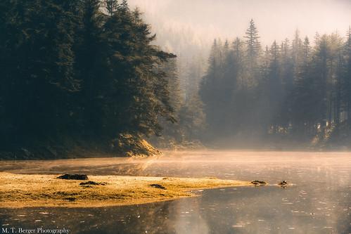 morning lake forest canon landscape austria österreich bank steiermark beautifullandscape grünersee mtberger