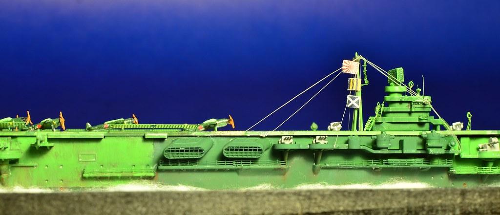 IJN Zuikaku 瑞鶴 1/700th (Tamiya) | Victorddt | Flickr