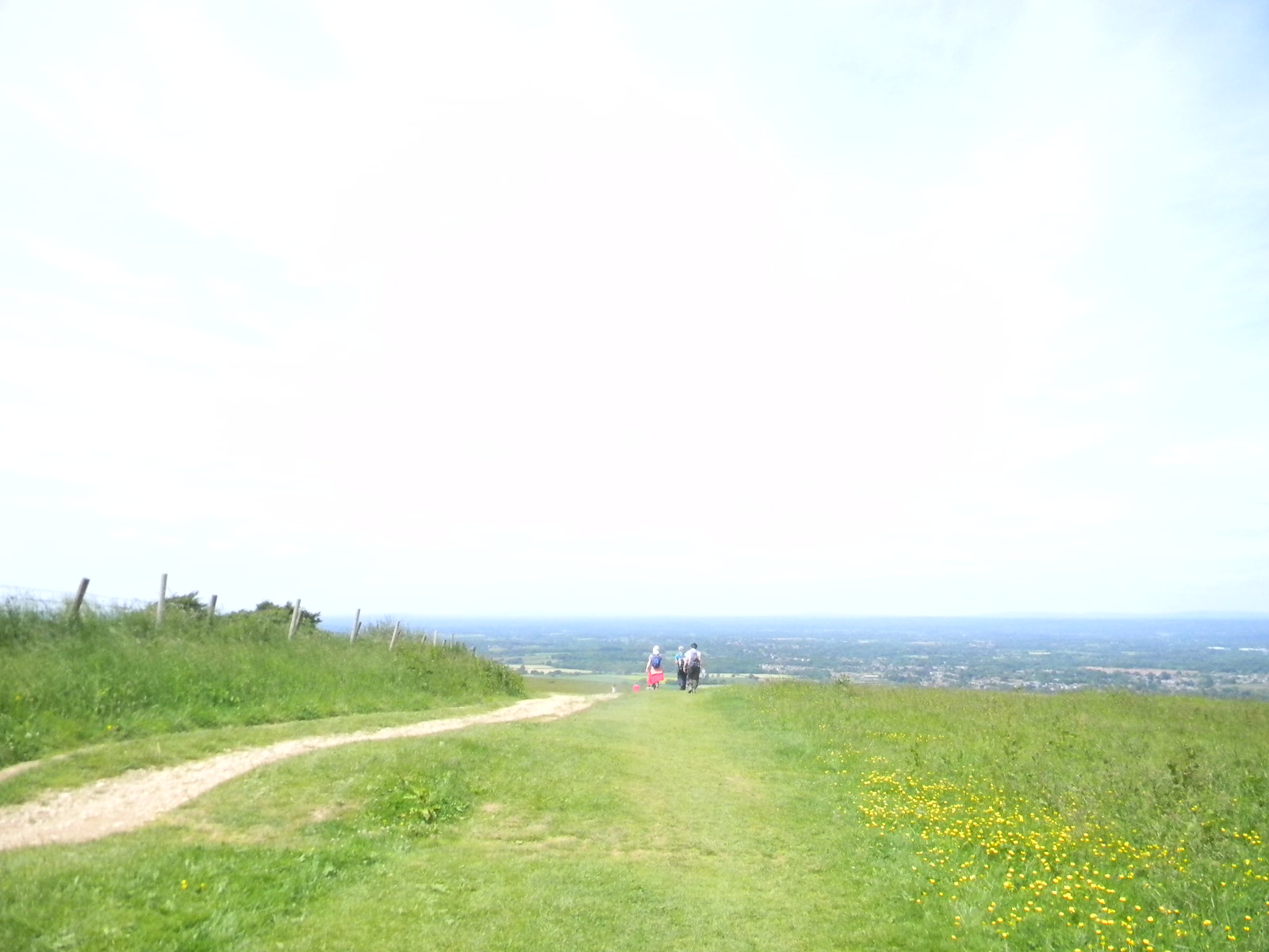 On Ditchling Beacon Hassocks to Brighton