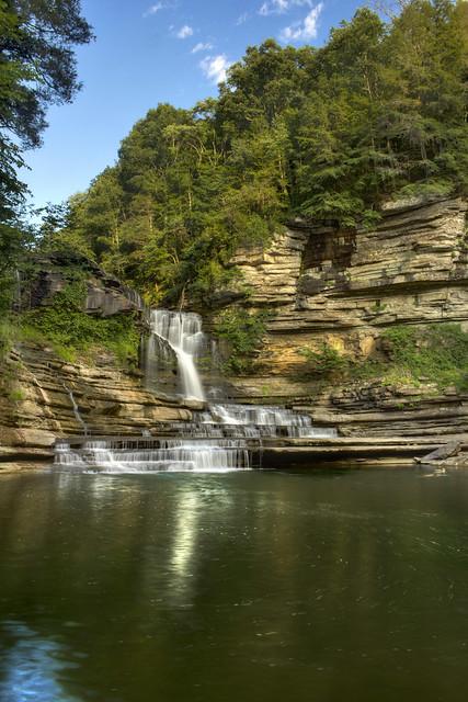 Cummins Falls, Blackburn Fork, Cummins Falls State Park, Jackson County, Tennessee 1
