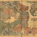 1865 rail road map Central - by calvin.metcalf