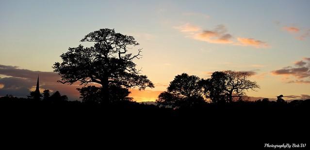 Shropshire Sunset.