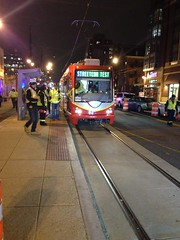 We've got the power! The first DC Streetcar testing under (its own)power.