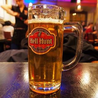 ビールです!