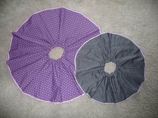 Matching reversible Circle Skirts