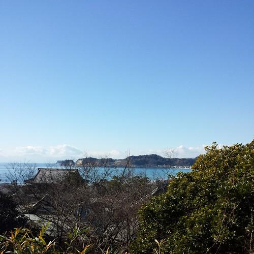 2014/01/11 (土) - 14:00 - 光明寺の裏の駐車場から