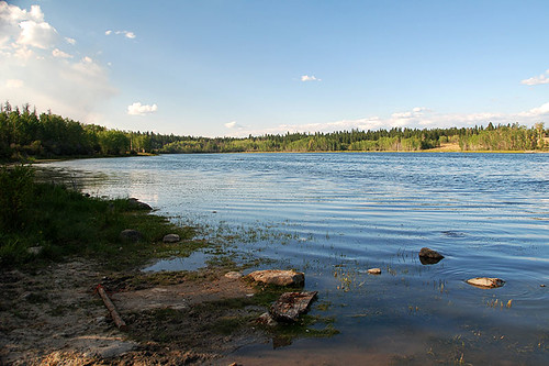 McIntyre Lake east of Riske Creek, Chilcotin, British Columbia