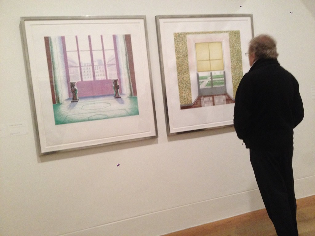 Hockney Prints at Dulwich Picture Gallery