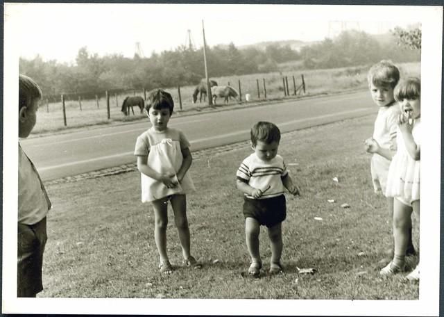 Spielende Kinder, Bottrop 1970