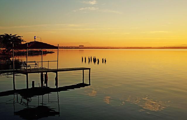 Cienfuegos bay , sunrise