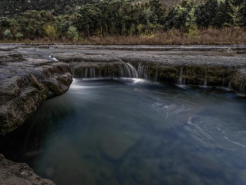 blue swimminghole hole creek stream waterfall water austin texas bullcreek olympus landscape clear