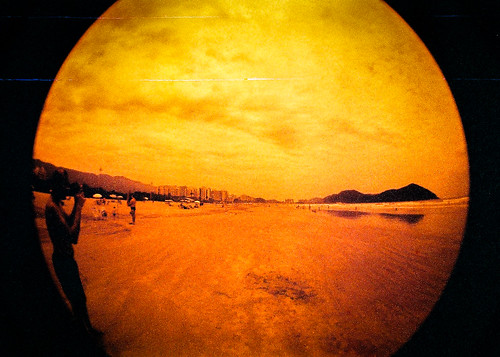 LomoOne - Redscale | by eusouorocha