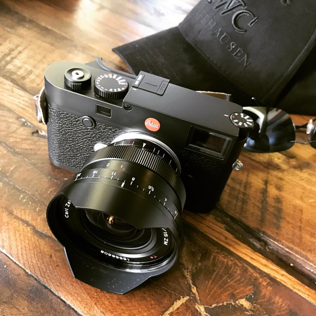 Zeiss #Distagon 15mm f/2 8 ZM lens on a #Leica M10 #camer