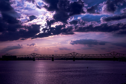 bridge unitedstates kentucky louisville ohioriver