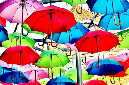 Colourful Rain | by Meg MILBURN
