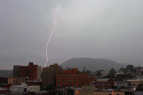 Sweet Seconds - Lightning Bolt Thunderstorm Roanoke Va July 10 2013