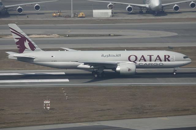 Qatar Airways Cargo Boeing 777-FDZ (A7-BFC)
