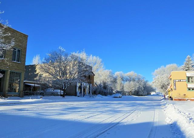 After the snow in La Veta