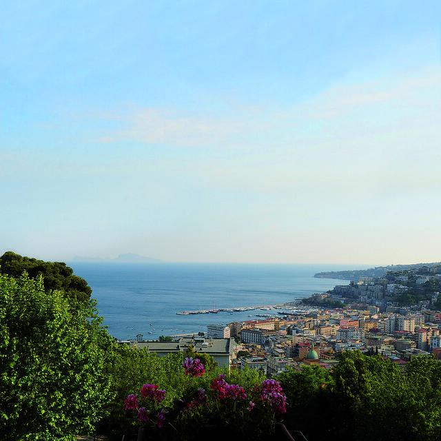 Villa Panoramica Sul Golfo Di Napoli Terrazza Sale Luminos