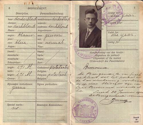 Laas Broersma Passport