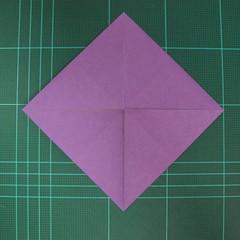 การพับกระดาษเป็นฐานนกอินทรี (Origami Eagle) 005