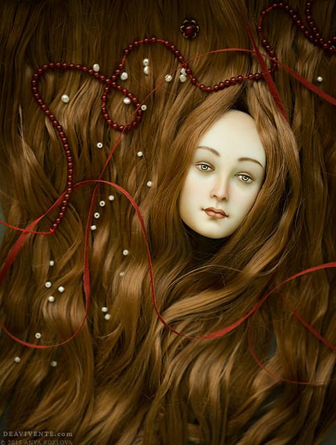 Enchanting sea of hair