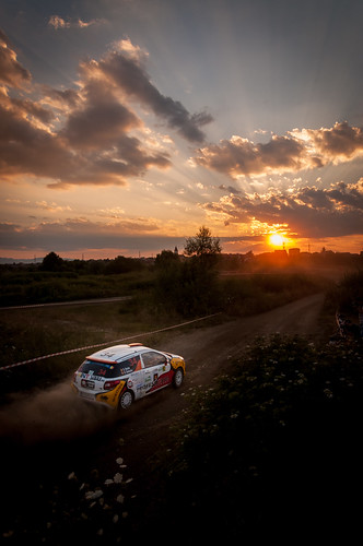 sunset rally citroen romania r3 erc ds3 sibiu