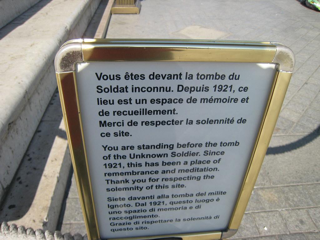 056 Paris - Arc de Triomphe de l'Etoile - Tombe du Soldat inconnu