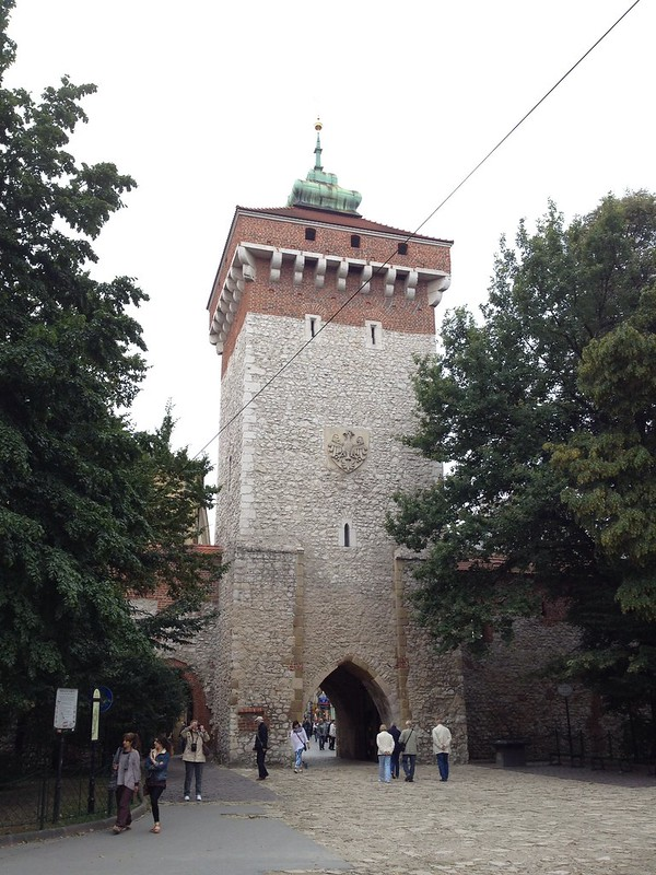 Florian Gate, Krakow, Poland