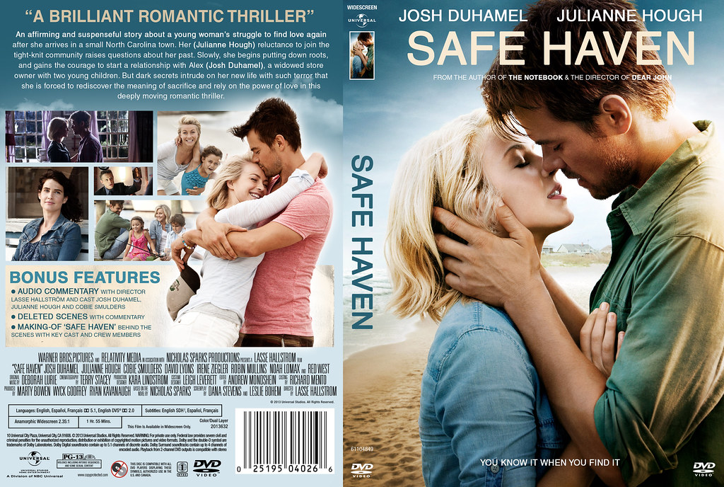 safe haven dvd cover | my movie collection | Flickr