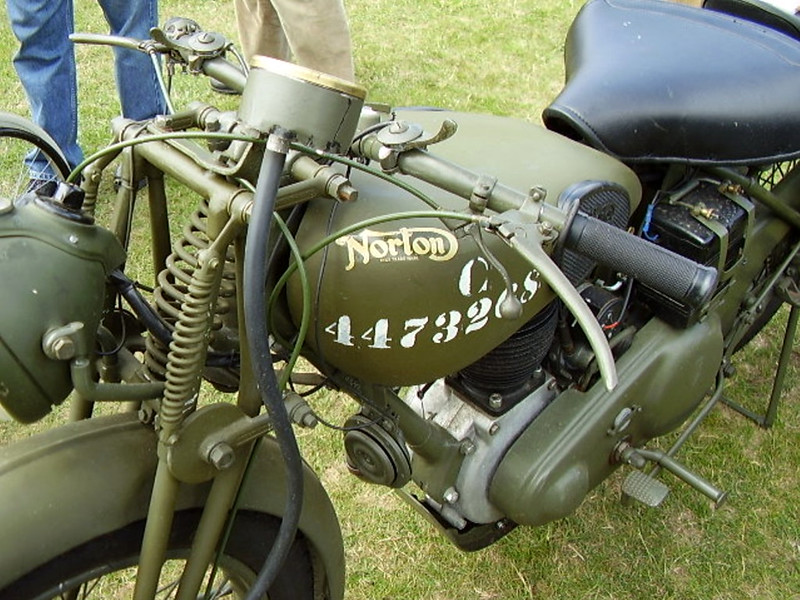 Norton (WD)16H Motorcycle (7)