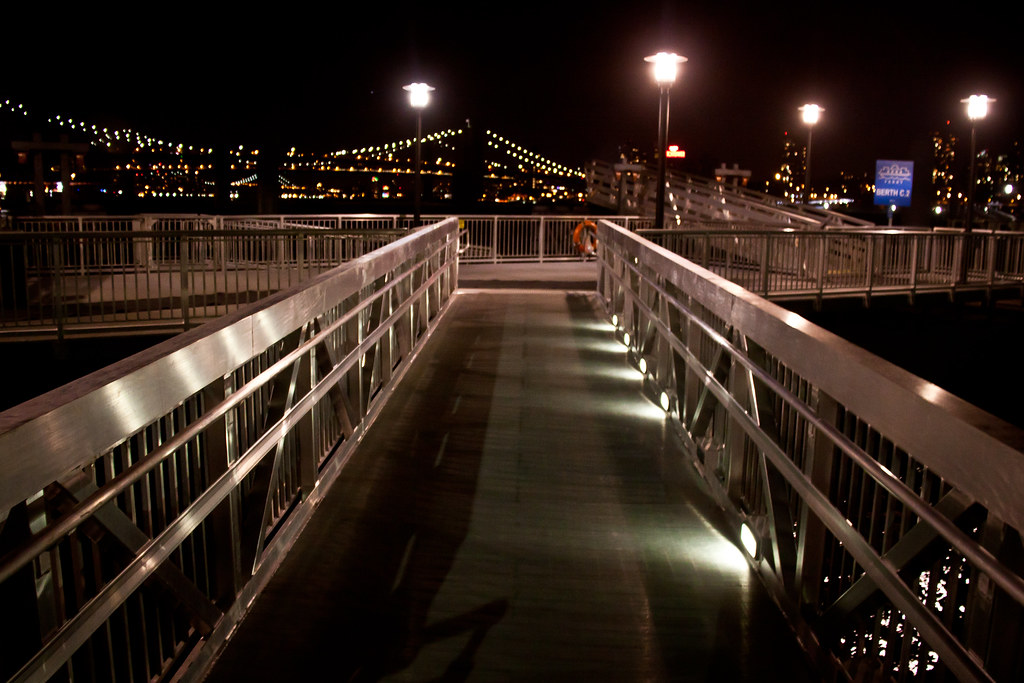 The Ramps at Pier 11 / Wall Street Pier at Night - NYC   Flickr