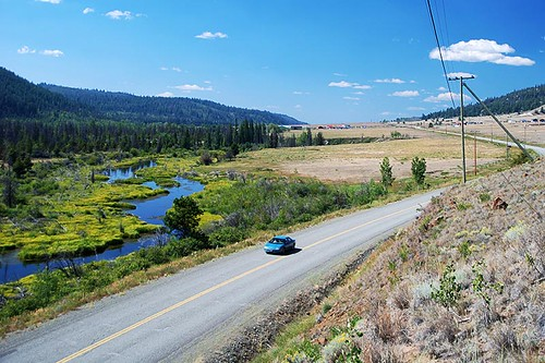 Highway 20 near Pyper Lake, Chilcotin, BC