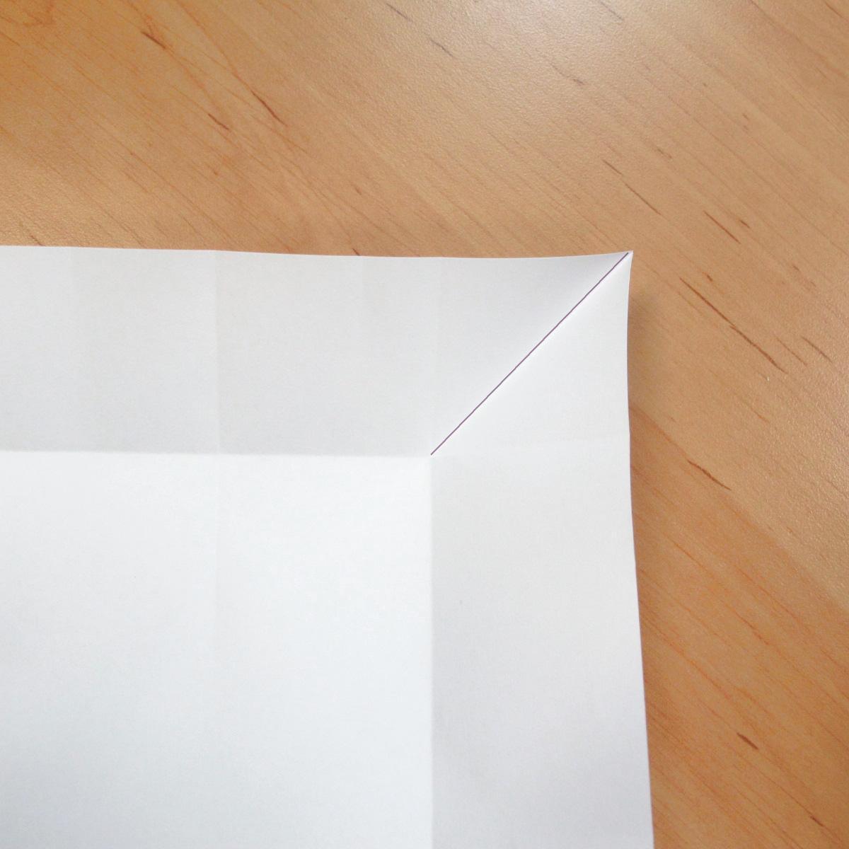 สอนการพับกระดาษเป็นที่ใส่ของรูปกลีบกุหลาบ (Rose box origami) 023