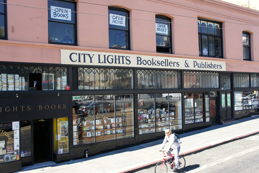 「City Lights Booksellers」的圖片搜尋結果