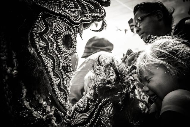 Tickle Indian. Super Sunday 2014, Mardi Gras Indians.