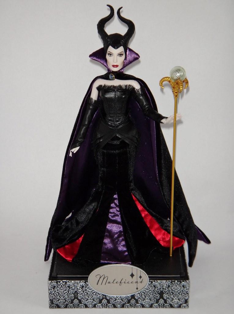 Disney Film Collection Maleficent 12 Doll In Designer Ma