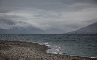 Lake Wanaka on a cloudy day, Otago, New Zealand   by Sitoo
