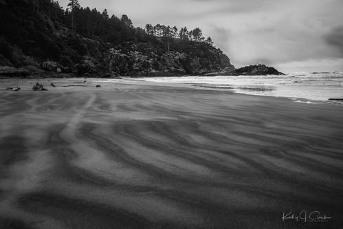 beach coast oregon sandy ilwaco unitedstates us landscape