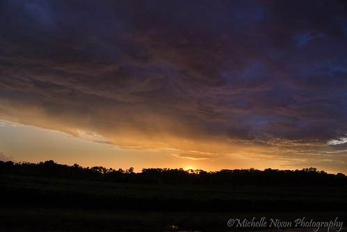 above light sunset sky color rain clouds canon t3 2013