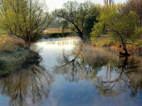 light sun mist reflection fog river bedford dawn bedfordshire felton lumen willington robertfelton thegreatouse bedfordrivervalleypark