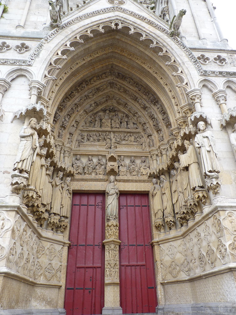 amiens cathedral - south portal