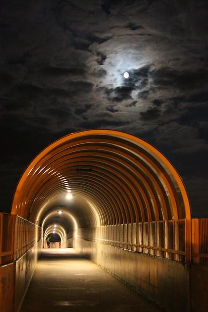 Fietsersbrug Tivoli Leuven