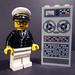 @ghc - grace hopper in LEGO - by pixbymaia by pixbymaia