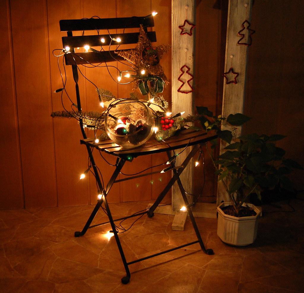 Weihnachtsdeko Stuhl.Weihnachtsdeko Der Elektrische Stuhl Spielerei Mit Der W Flickr